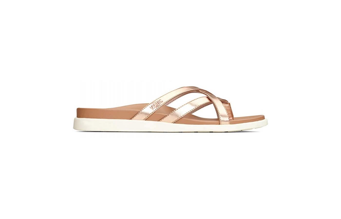 Vionic Palm Daisy sandal side view