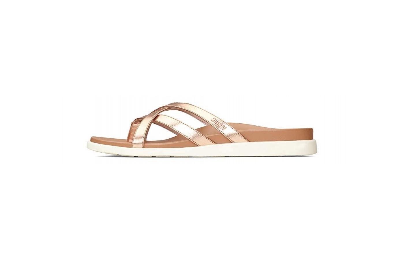 Vionic Palm Daisy sandal left side