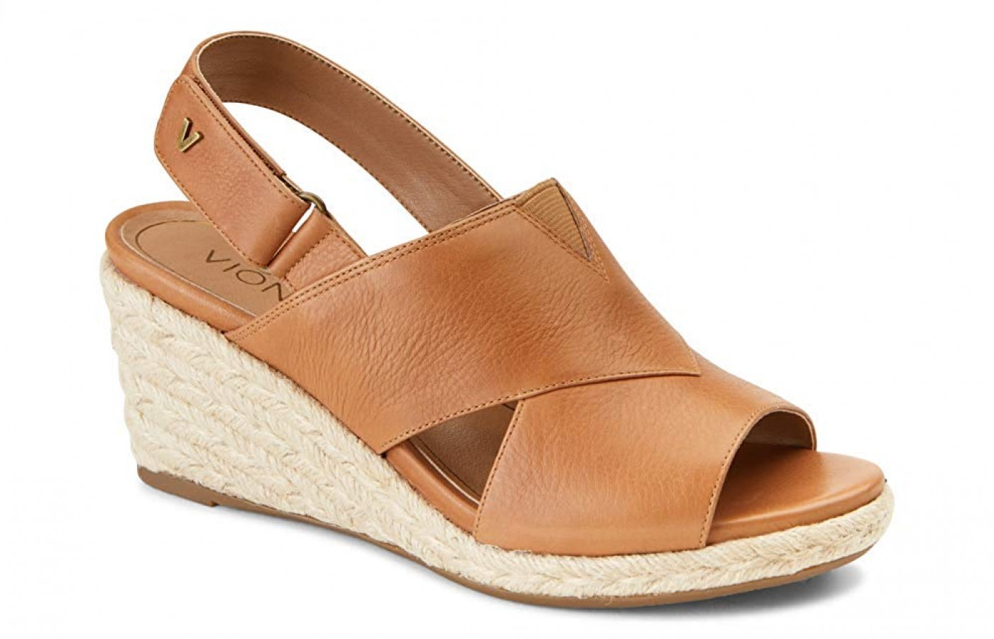 Vionic Tulum Zamar wedge sandal is incredibly fashionable
