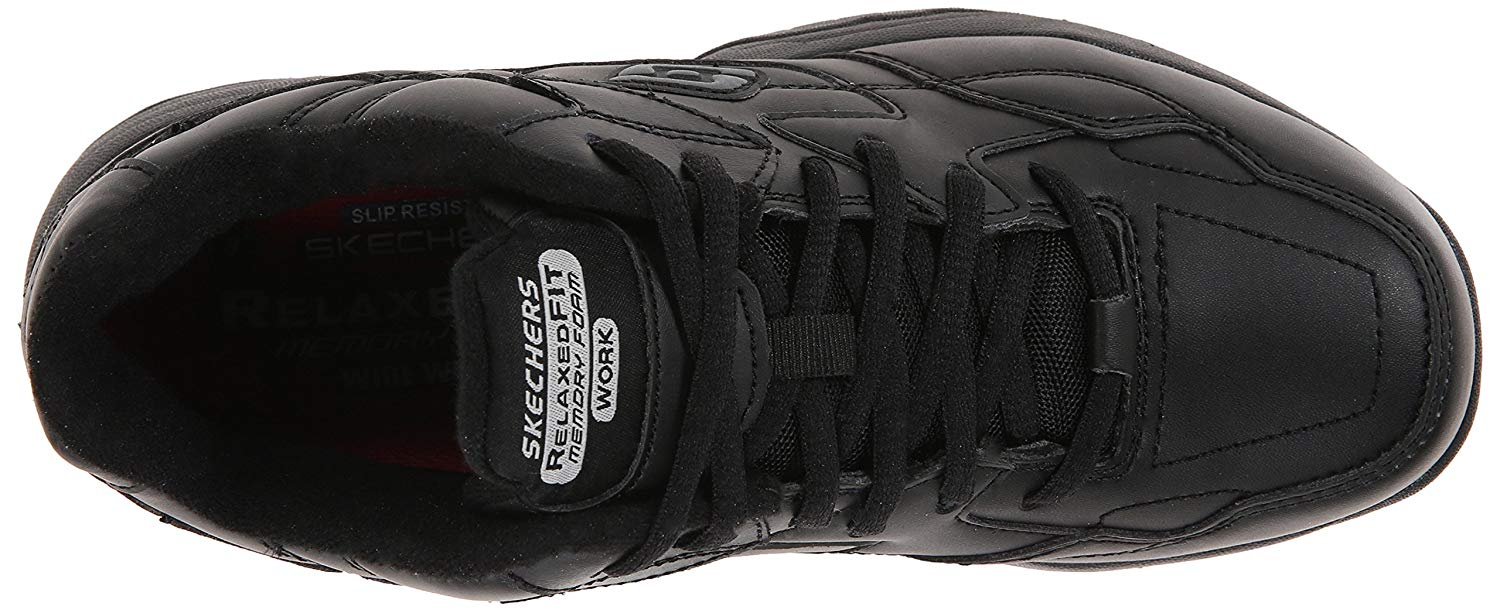 In this pair of Skechers, the footbed has multiple layers of cushioning.