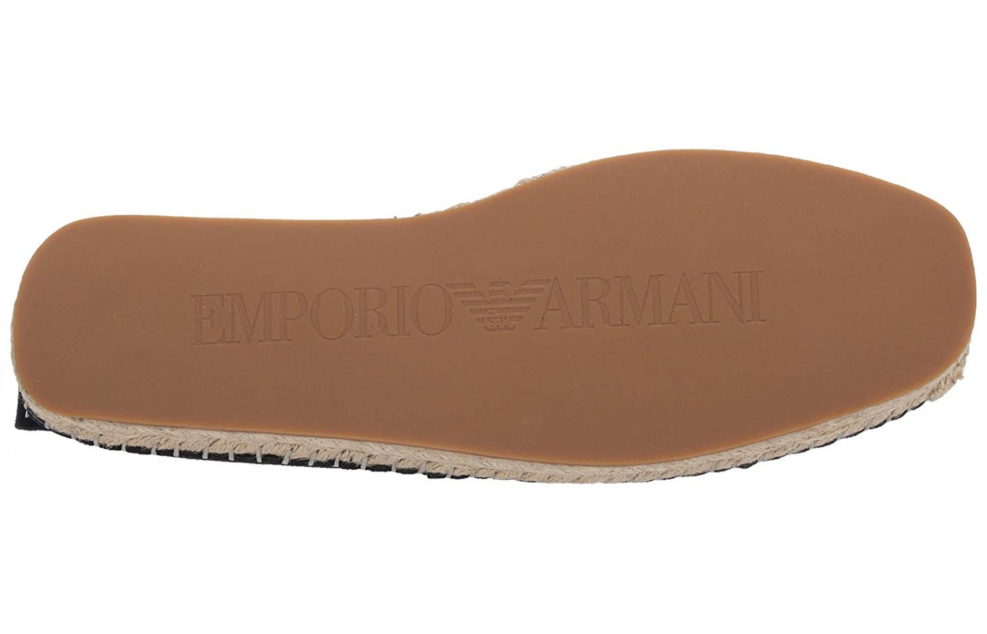 Emporio Armani Suede Espadrille Bottom View
