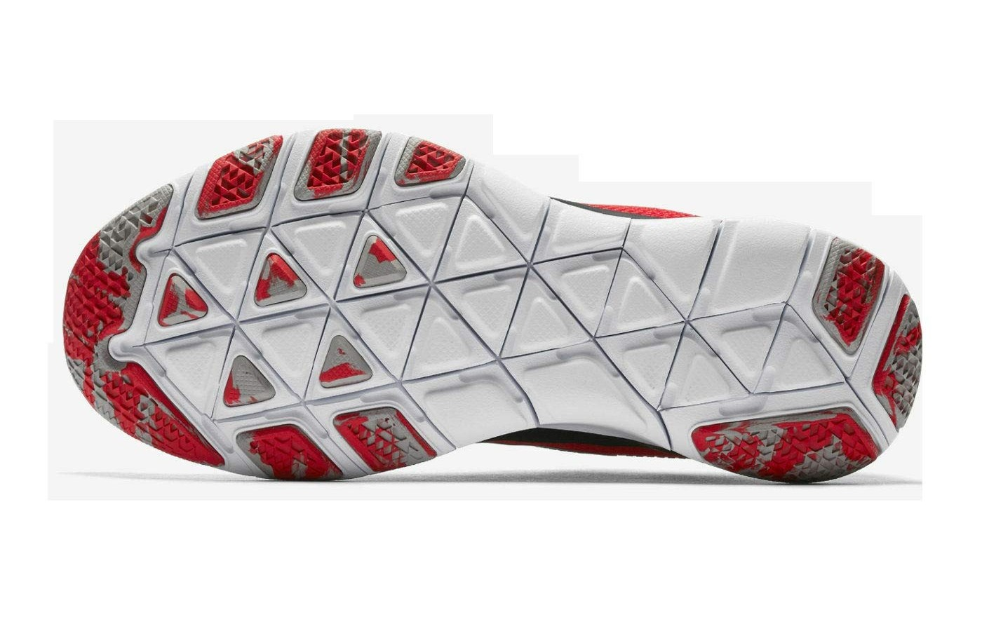 Nike Free Trainer V7 Week 0 Ohio State Buckeyes bottom