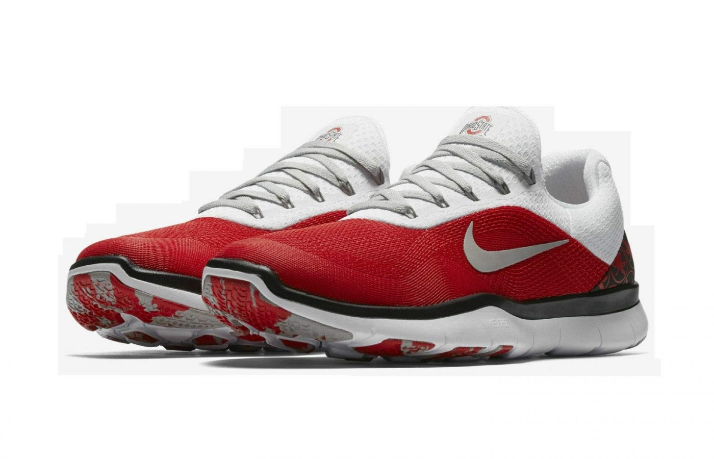 Nike Free Trainer V7 Week 0 Ohio State Buckeyes pair