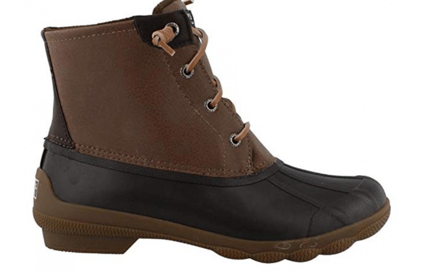 The side view of the Sperry Womens Syren Gulf Closed Toe Ankle Cold Weather Boots