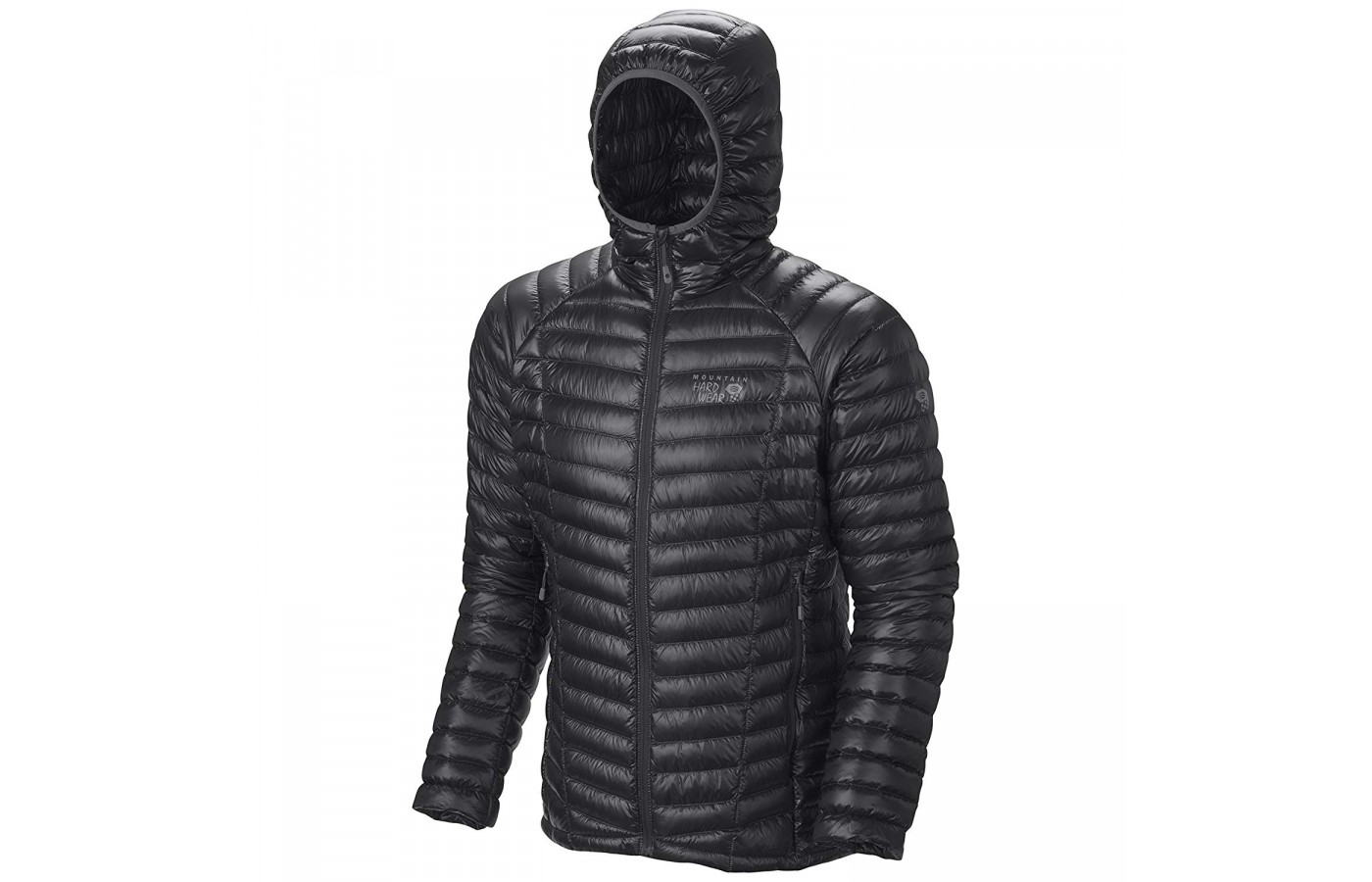 Mountain Hardwear Ghost Whisperer hood up