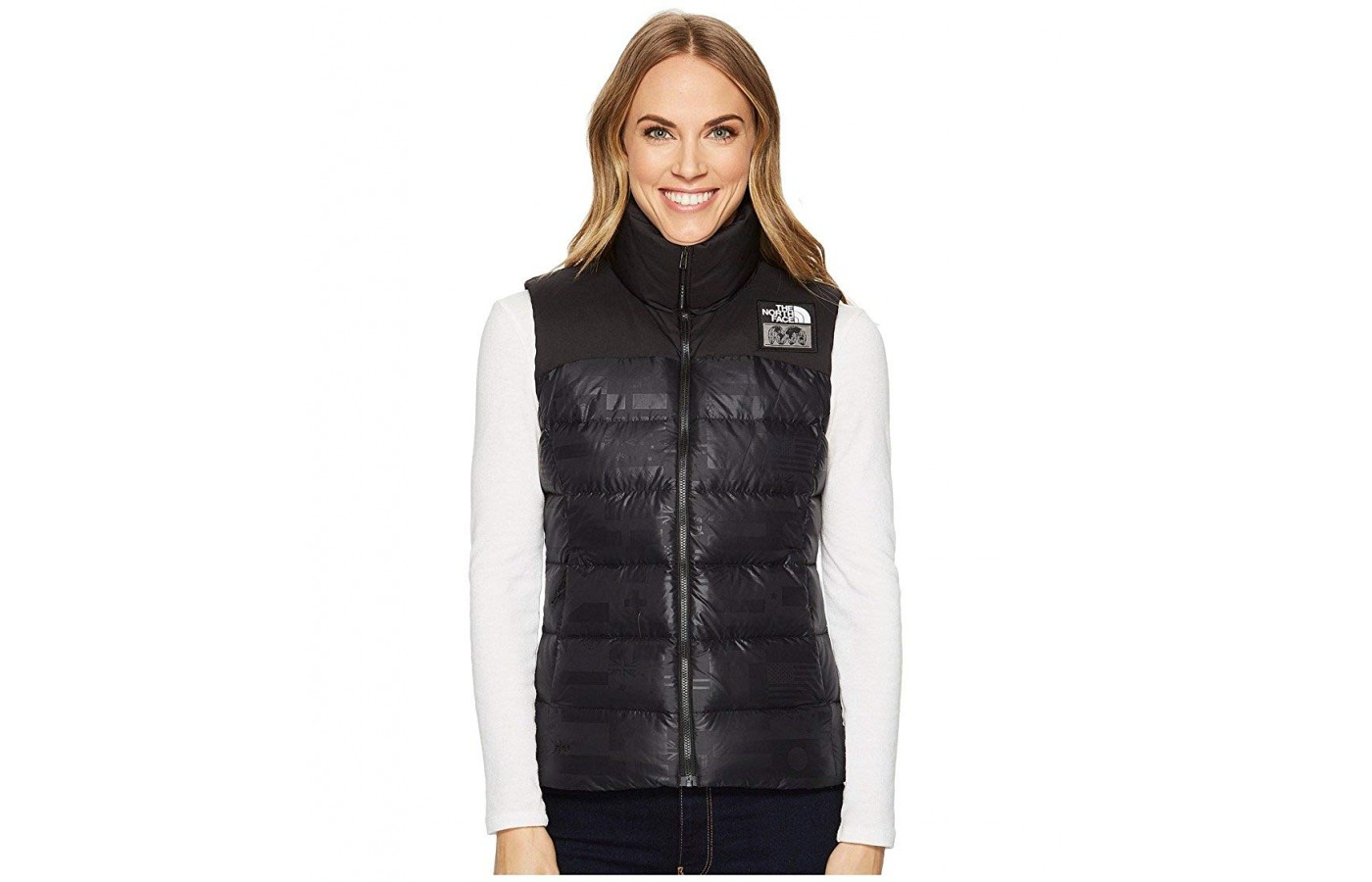 North Face Nuptse Vest front