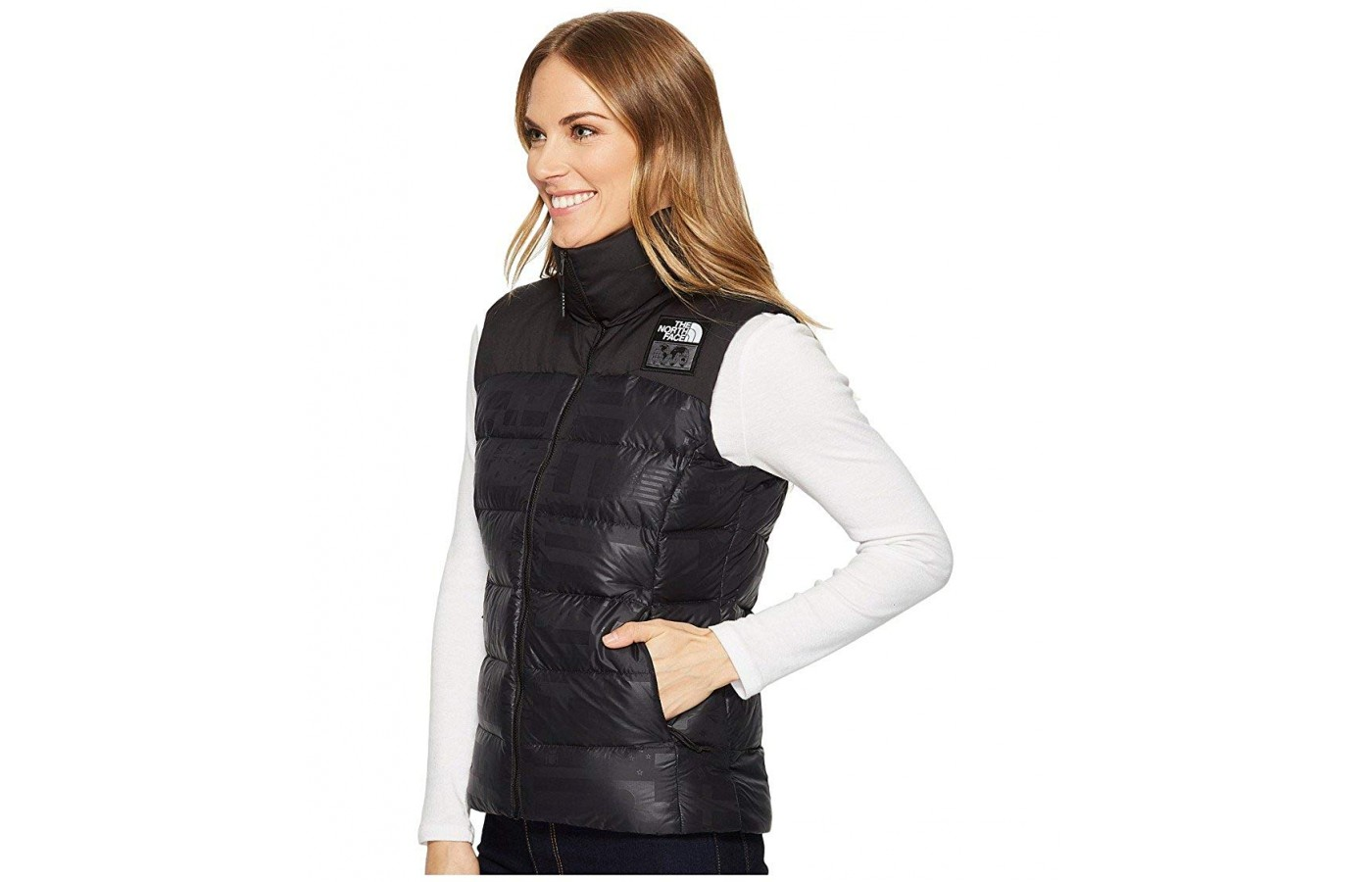 North Face Nuptse Vest side