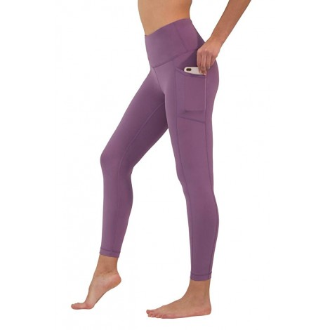 90 Degrees high waisted workout leggings in pink by Reflex