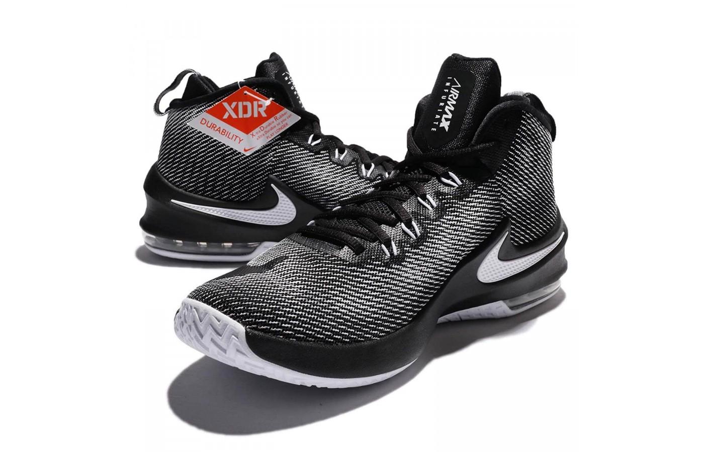 Nike Air Max Infuriate Mid pair