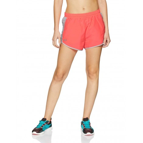 Pink Under Armour Fly-By Shorts