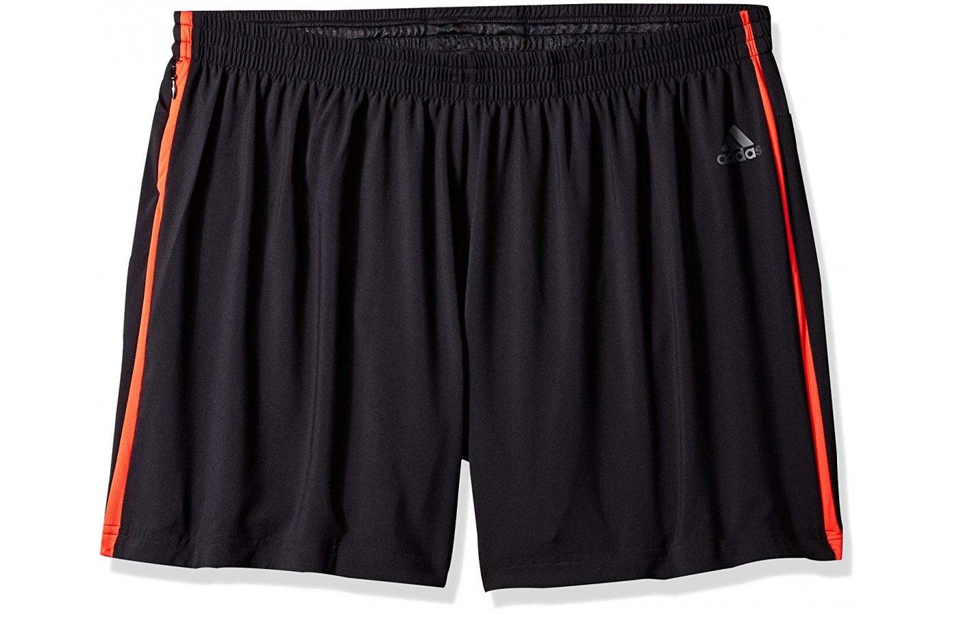Front of the Adidas Response shorts.