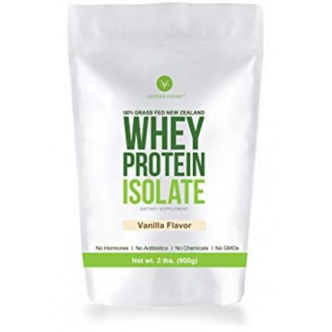 Antler Farms keto friendly whey protein isolate vanilla flavor
