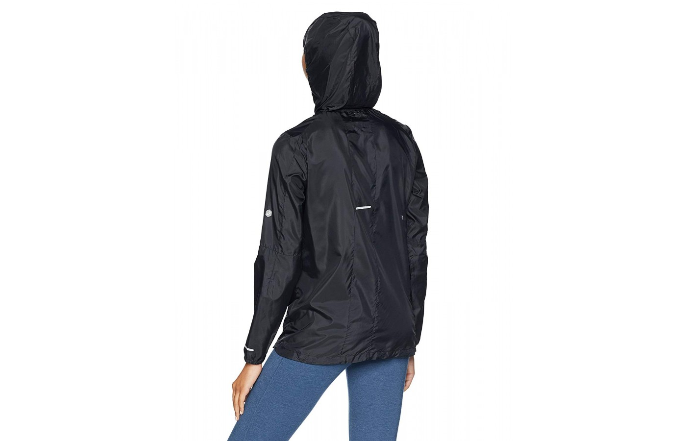 Asics Packable Jacket black back