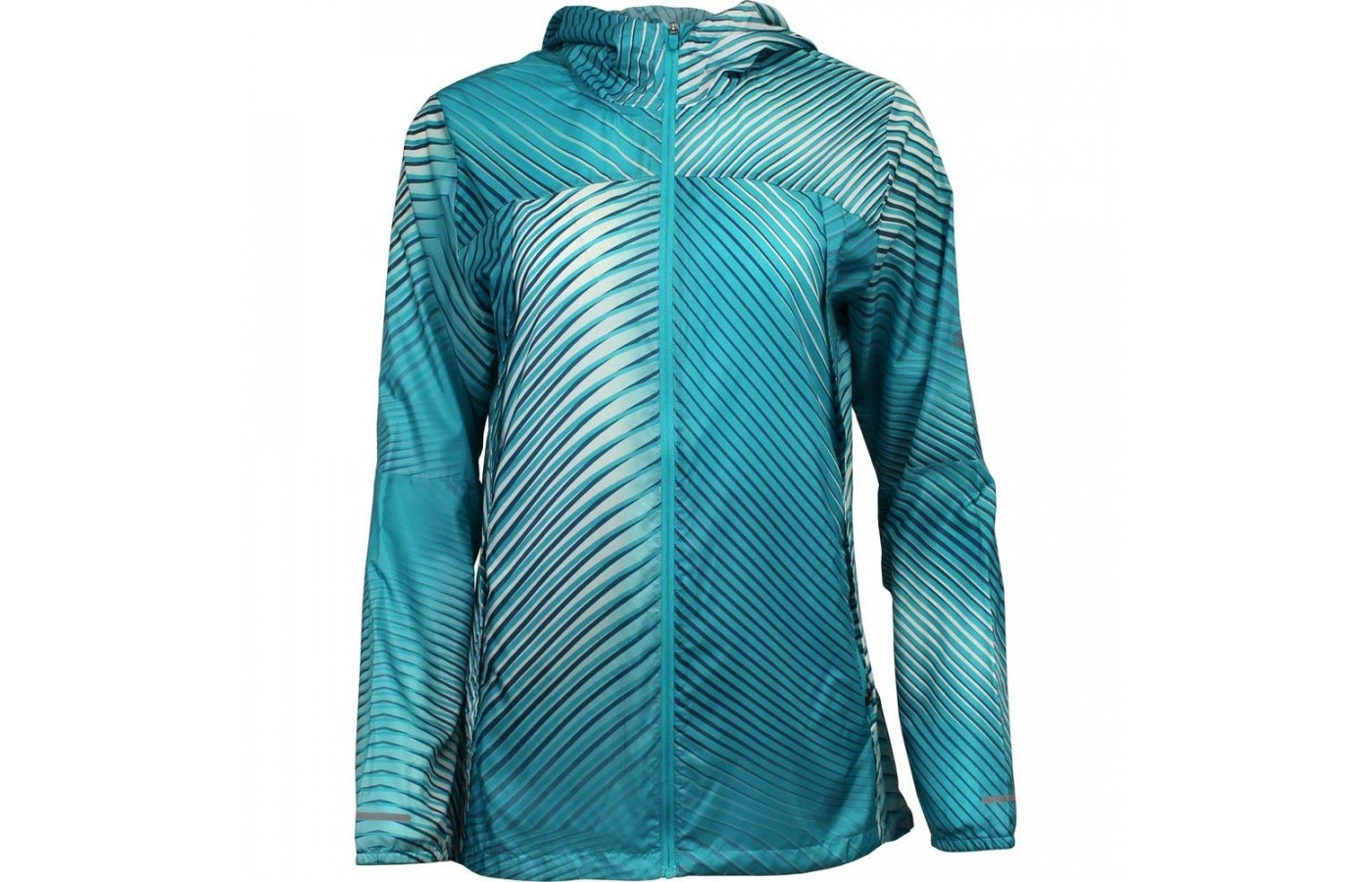 Asics Packable Jacket blue front