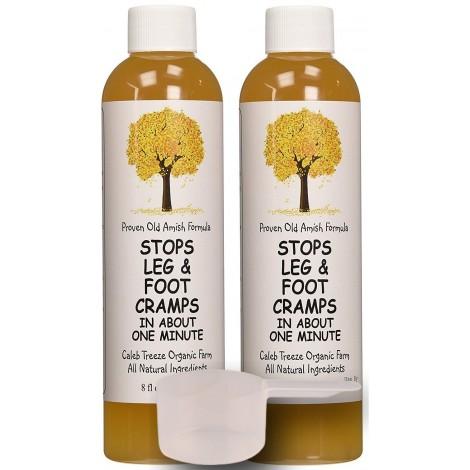 Caleb Treeze Organic Farms leg and foot cramps supplement
