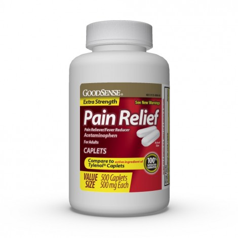 GoodSense pain relief for muscle cramps