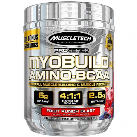 MuscleTech Myobuild muscle gain and recovery supplement