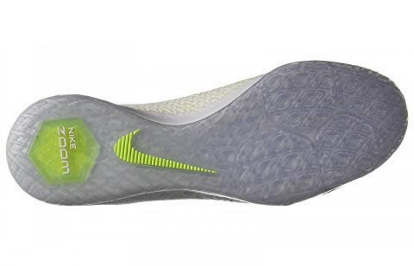 Nike Zoom Hypervenom X 3 Pro IC Bottom View