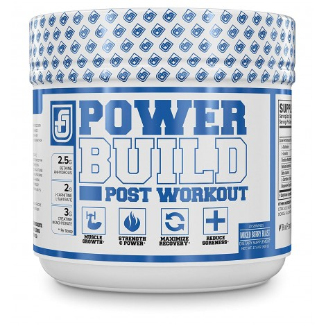 POWERBUILD Clinically-Dosed supplements for muscle recovery