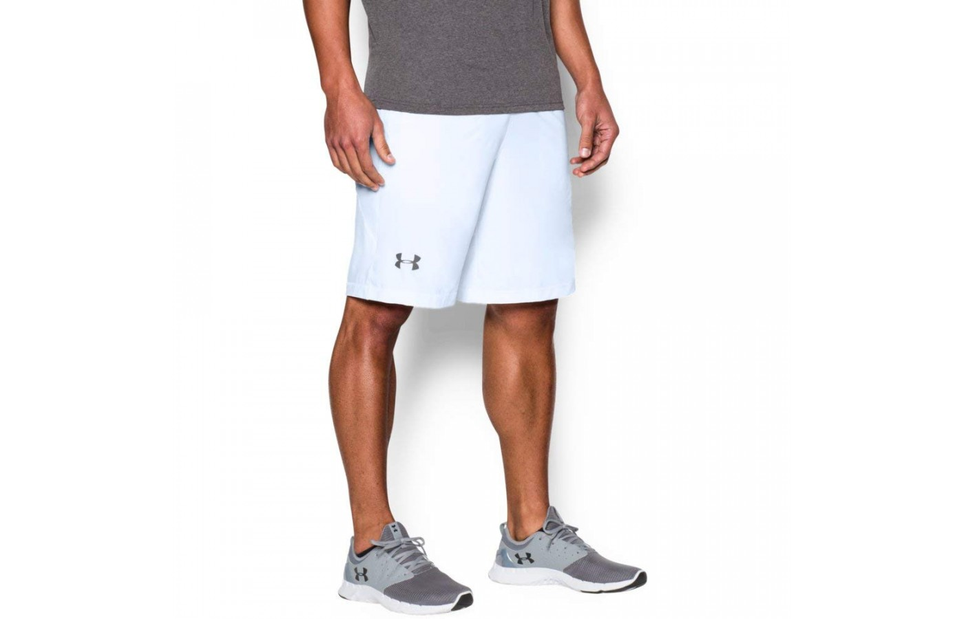 Under Armour Raid Shorts Angled View