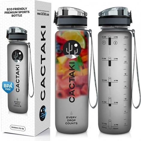 Eco-friendly Cactaki sports bottle
