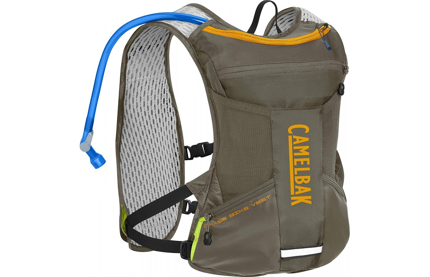 The Camelbak has mesh lining, as seen here.