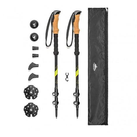 cascade mountain tech trekking poles reviews
