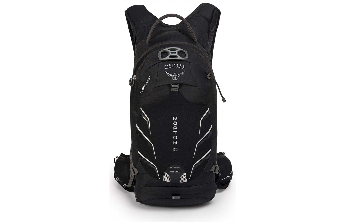 The Raptor 10 has multiple pockets and space to fasten a light and your helmet.