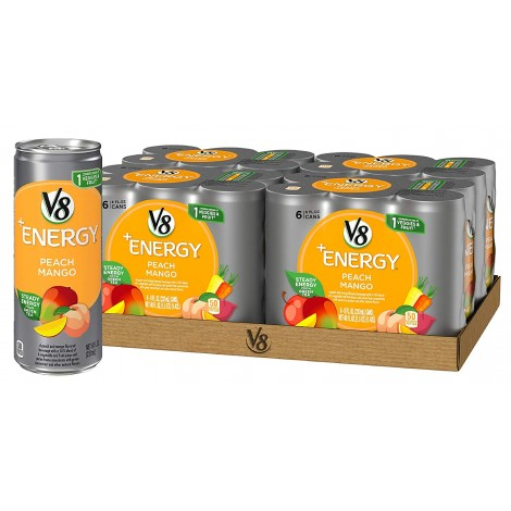 V8+ Natural Energy Drink
