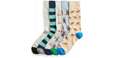amazon goodthreads socks animal