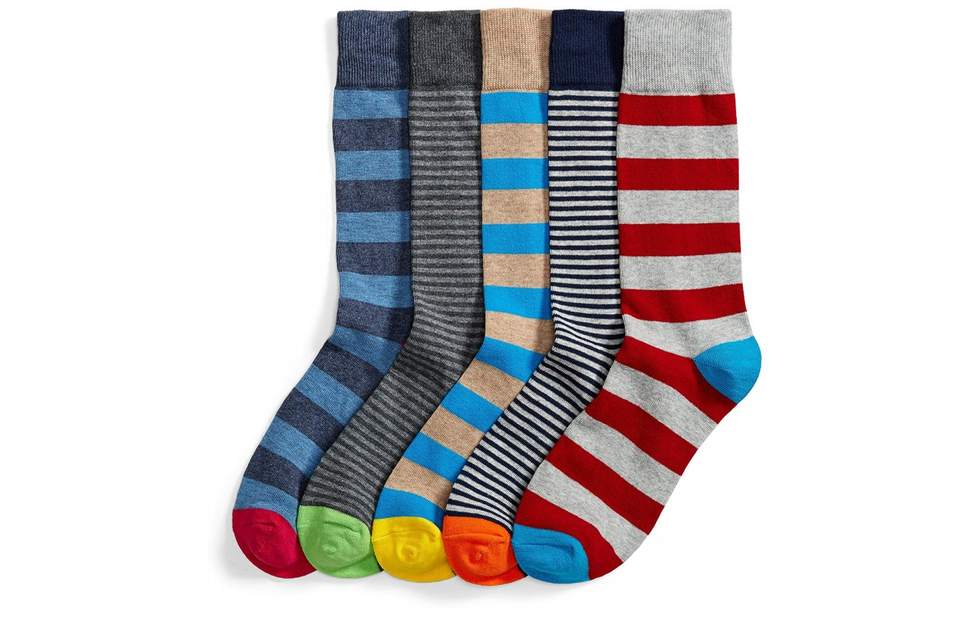 Amazon Goodthreads Socks stripe