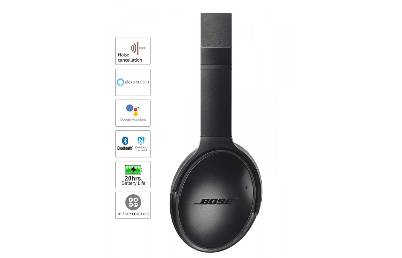 Bose QuietComfort 35 II features