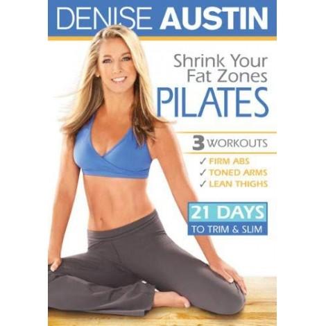 Denise Austin: Shrink Your Fat Zones Pilates DVD