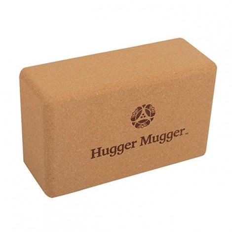 cork yoga block from Hugger Mugger