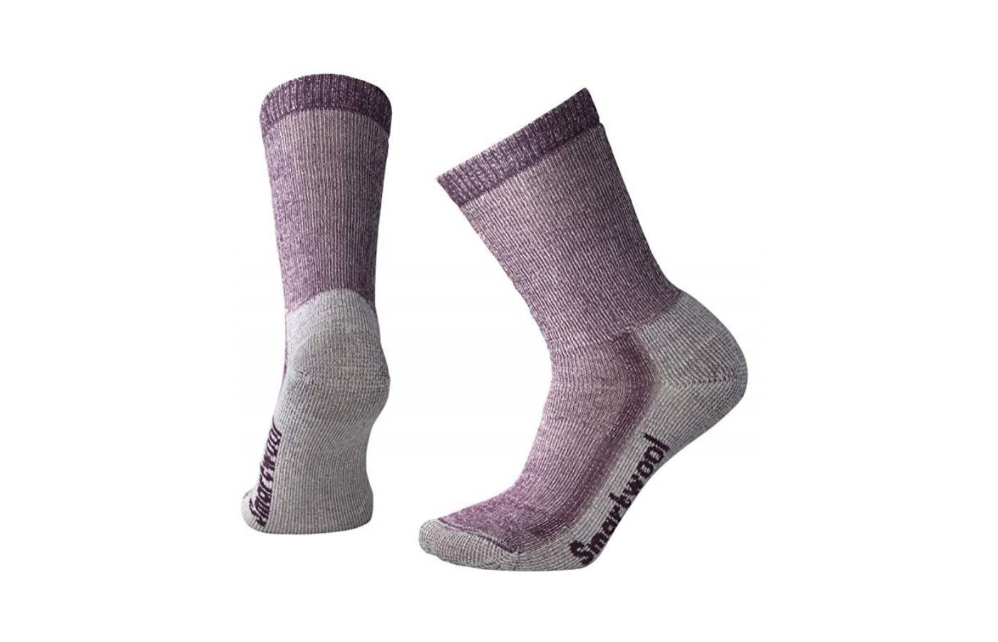 Smartwool Hike Crew Socks Purple