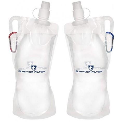 Survivor Filter best foldable water bottle