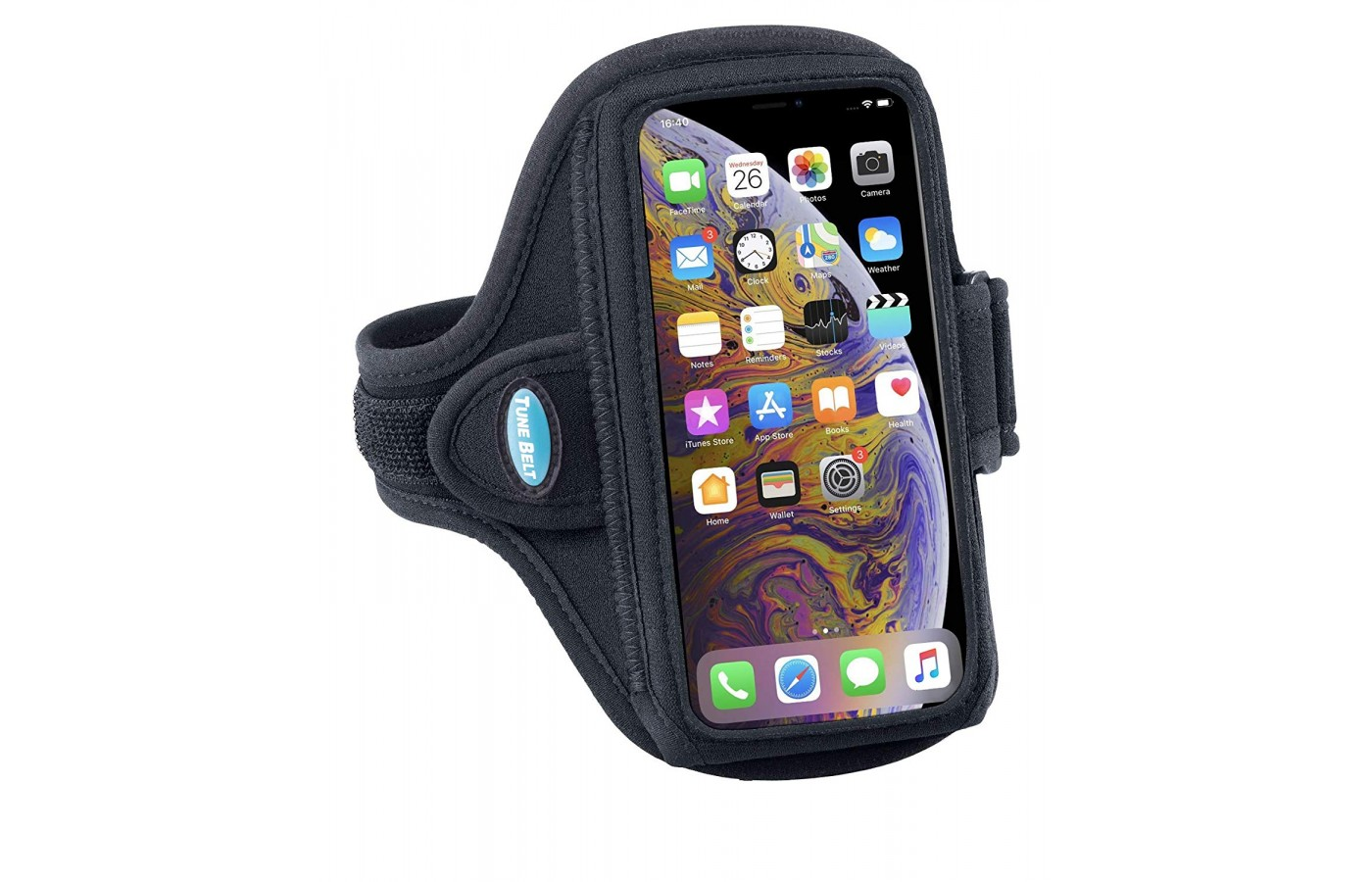 Tune Belt Armband feature