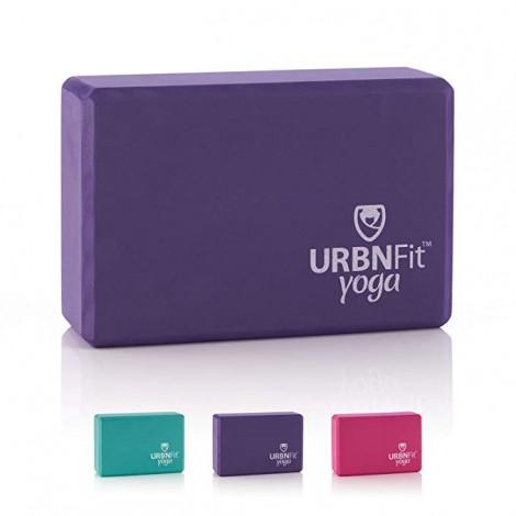 URBNFit High Density EVA Foam Yoga Block