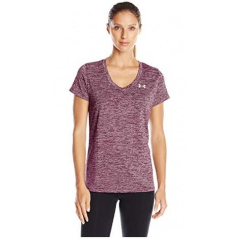 Under Armour Tech V-Neck Twist running shirt for women