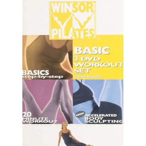 Winsor Pilates Basic 3 DVD Workout Set