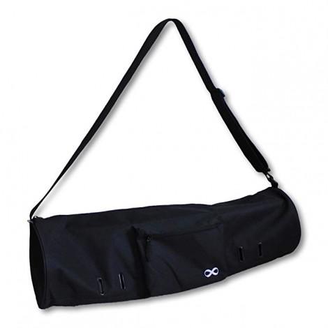 YogaAddict Large Yoga Mat Bag Compact with Pockets & Zipper