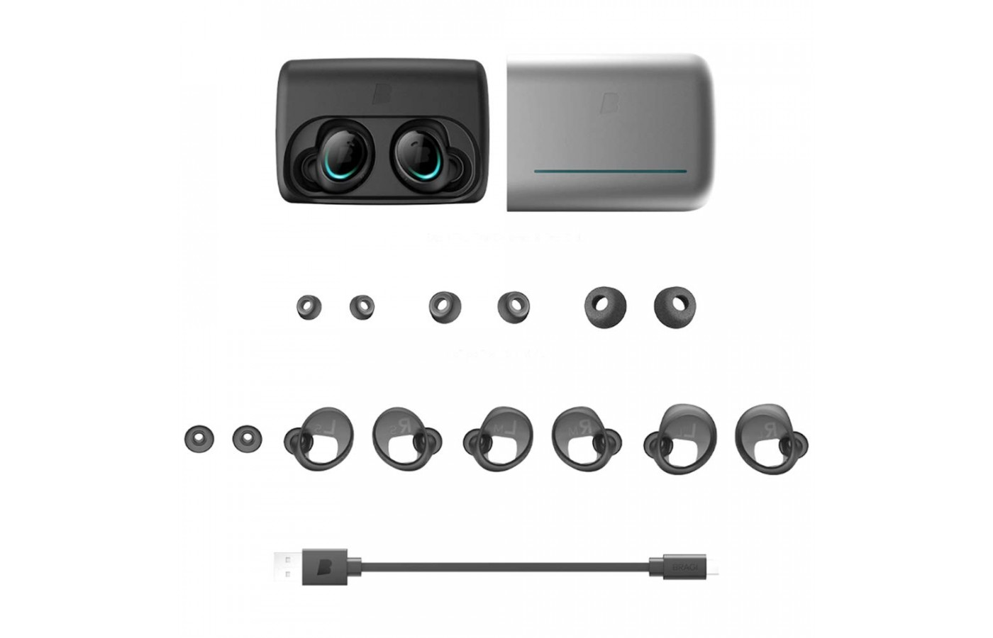 Bragi The Dash Pro accessories