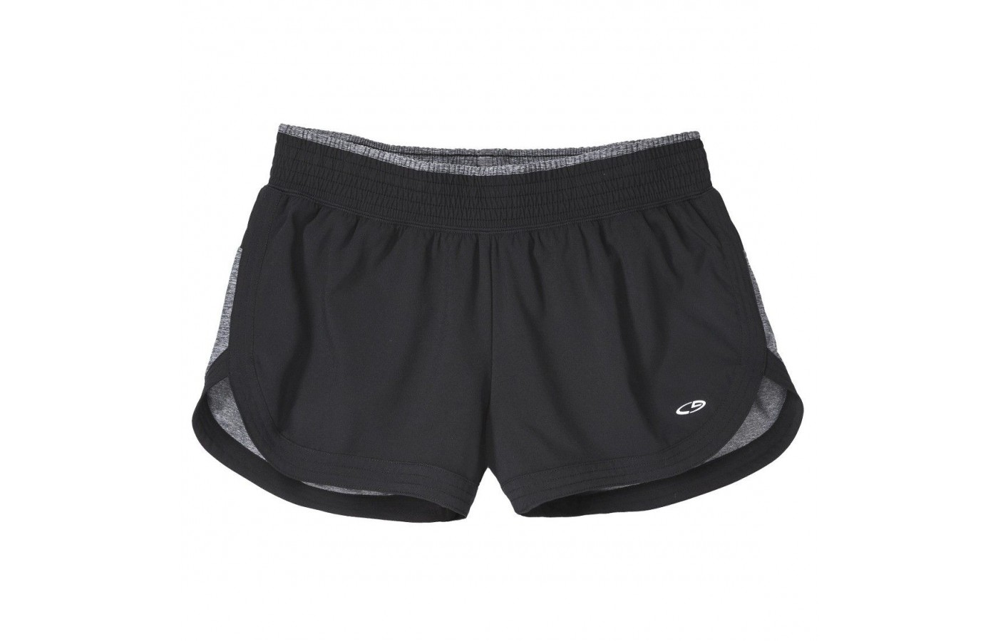 A black pair of the Champion C9 running short.