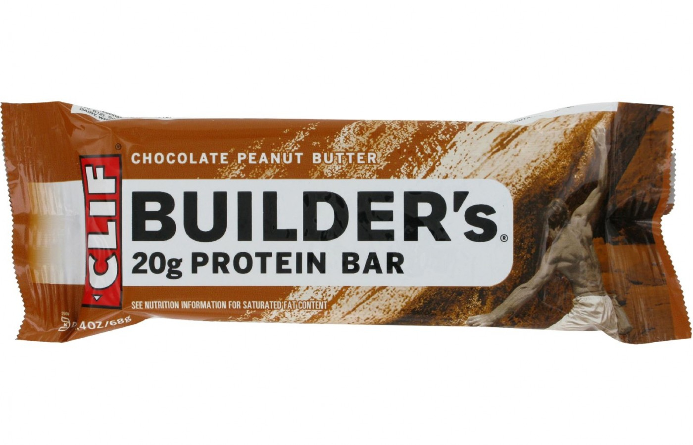 Chocolate Peanut Butter is one of the flavor favorites of these Clif Builder's Bars,