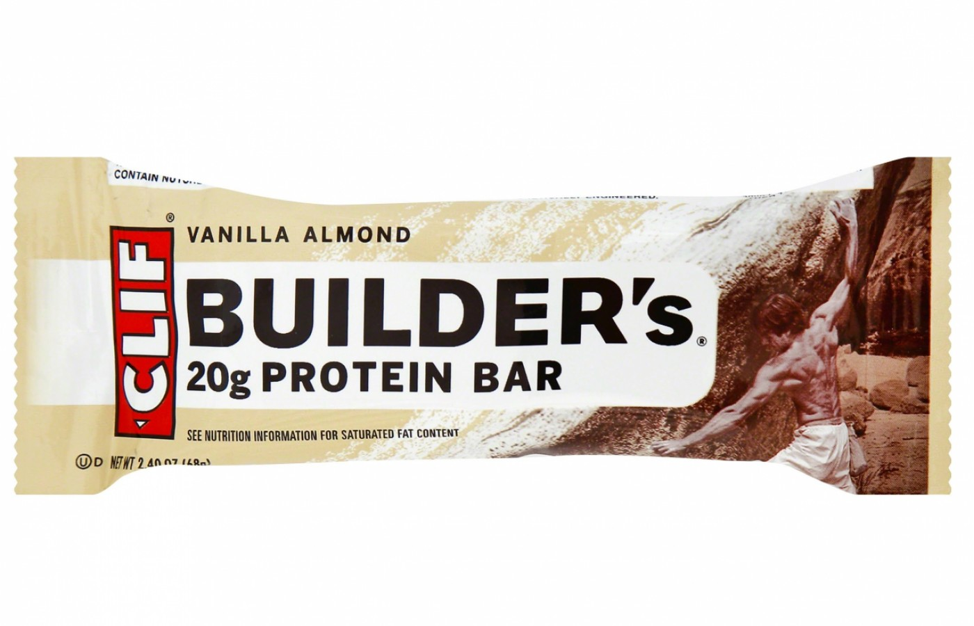Clif Builder's Vanilla Almond for those who don't like chocolate.