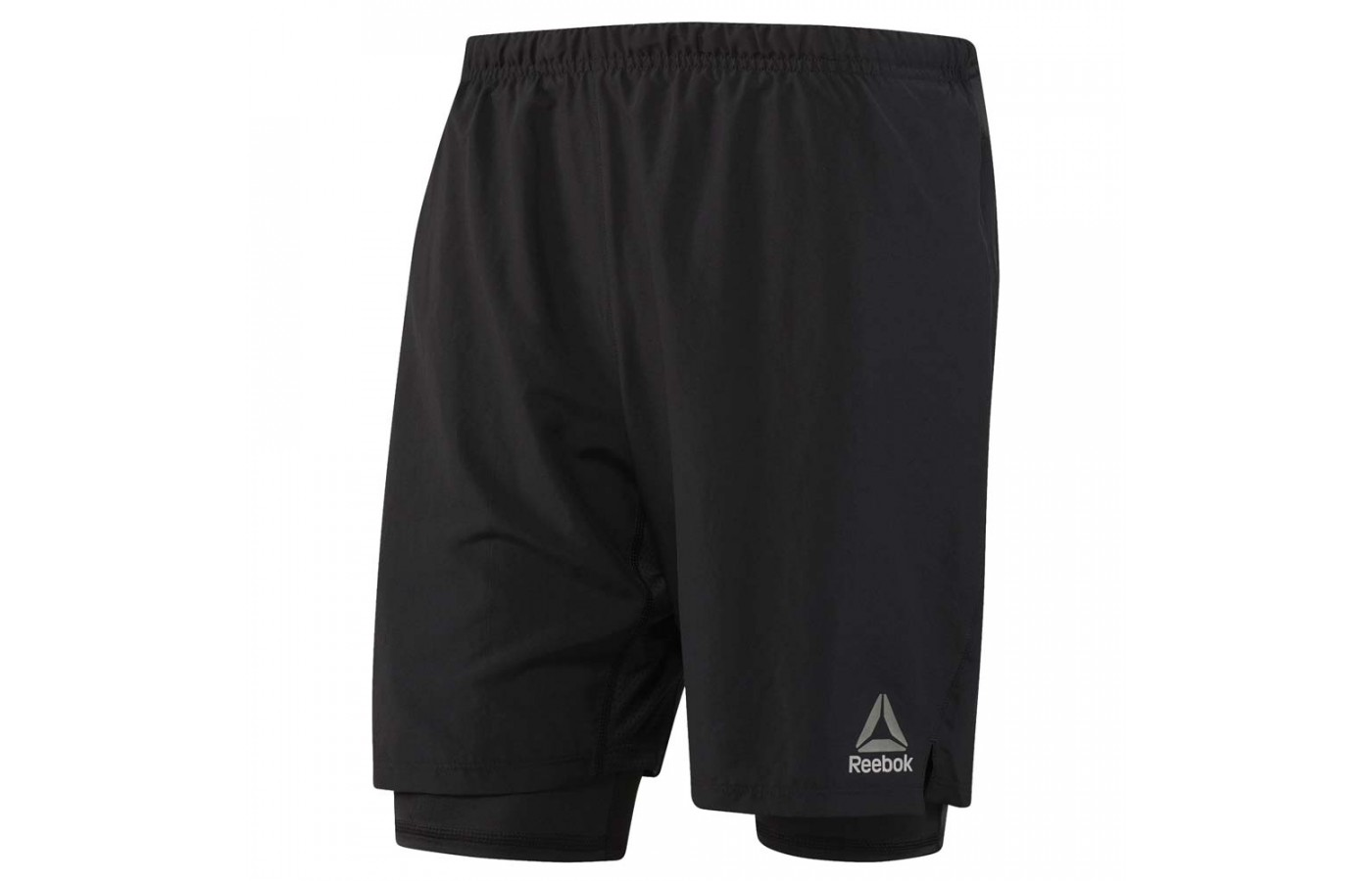 Here you can see the longer liner of the Reebok One Series 2-in-1 Short.