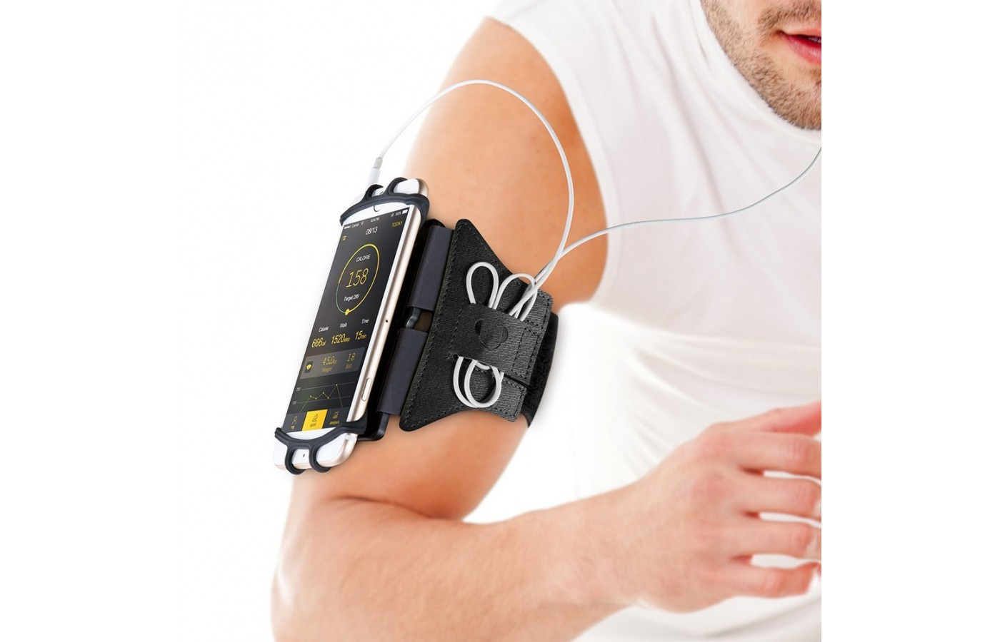 VUP Running Armband on arm