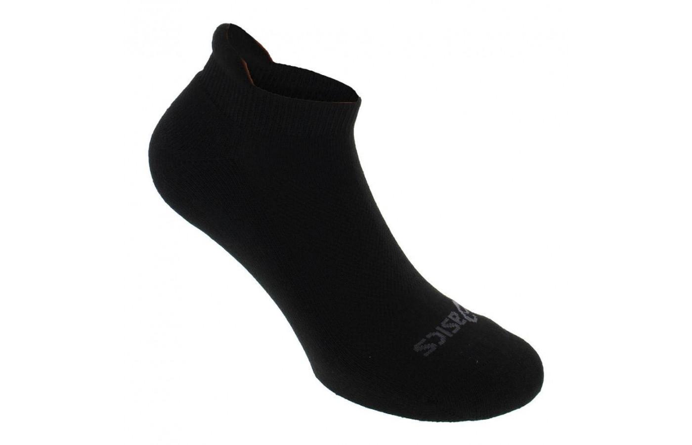 Asics Cushion Low Cut Sock Angled View