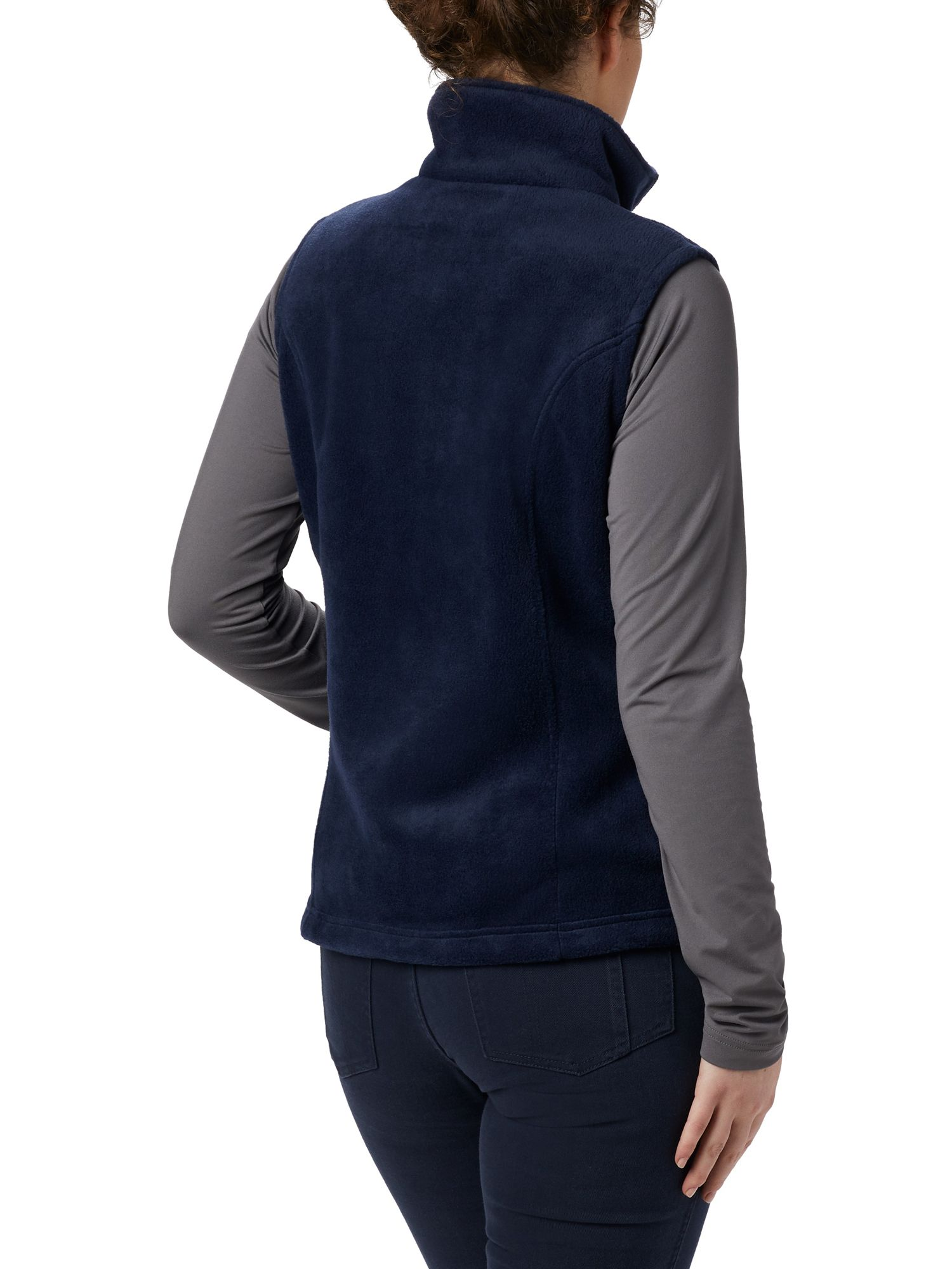 Columbia Benton Springs Fleece Vest Back View