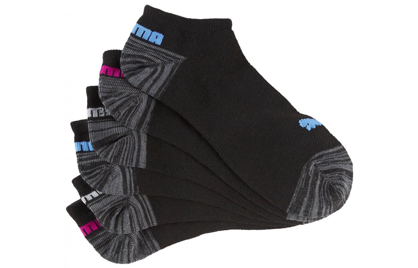 Puma No Show Socks Multi Pack